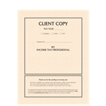Client Copy Tax Return Folder with Pockets (8784)