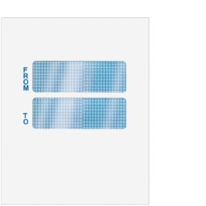 Double window envelope 9 1 2 x 12 blank cclnt9a10 for 2 window envelope