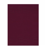 Embossed Folder with Two Pockets - Squares Design (FOLDER7XX)