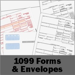 1099 Forms and Envelopes
