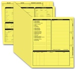 275Y, Real Estate Folder, Right Panel List, Letter Size, Yellow
