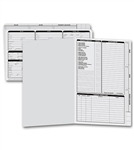 276, Real Estate Folder, Right Panel List, Legal Size, Gray
