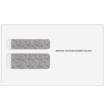 W-2 Envelope- 2-Wide Double Window with Moisture Seal (2DWENV05)