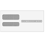 W-2 Double Window Envelope 3up - Self Seal (3UPDWENVS05)