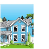 Mortgage Application Folder Style: Colonial Size: Letter (7847)