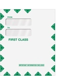 "Double Window Tax Organizer Envelope 9-1/2"" x 11-1/2"" - Peel-and-Close (80342PS)"