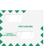 "Double Window Tax Return Envelope 11-1/2"" x 9-1/2"" (landscape) - Peel-and-Close (80343PS)"