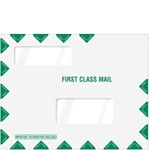 "Double Window Tax Organizer Envelope 11-1/2"" x 9"" (landscape) (80344)"
