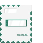 "Offset Double Window Tyvek Expandable Envelope 9"" x 12-1/2""x2"" Peel-and-Close (80386)"