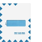 First Class Mail Single Window Envelope - Moisture Seal (80554)