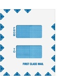 "Double Window ""First Class Mail"" Envelope 9-1/2"" x 12"" - Peel & Close (80922)"