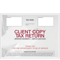 Client Tax Recordkeeping Envelope (E047)