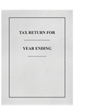 Classic Tax Return Folder FOLDER10