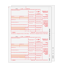 1099-INT Interest Income Preprinted - Set 3-part (INTS305)