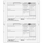 W-2 4-part Electronic Reporting Form - Carbonless (MMCW2054)