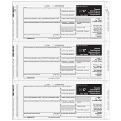 1099-PATR Electronic Reporting Form 2-part - 3up Self-Mailer (MMQMPATR052)