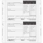 Continuous W-2 Electronic Reporting Form 4-part - Self Mailer (MMQMW2D053)