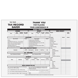 Client Tax Record Saver Envelope (TRSENV)