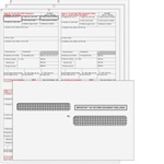 W-2 Convenience Kit - 6-part Condensed 4up Ver. 1 (Quadrants) for 25 Employees (W24UP6E25)